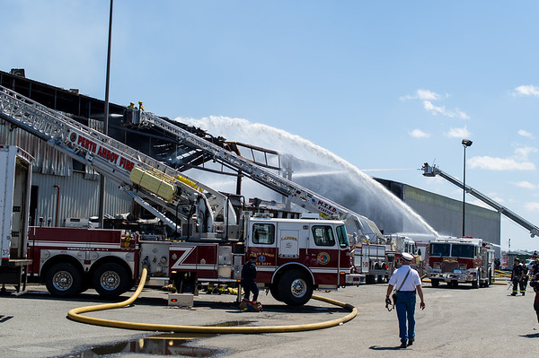 Woodbridge 5 Alarm Warehouse Fire