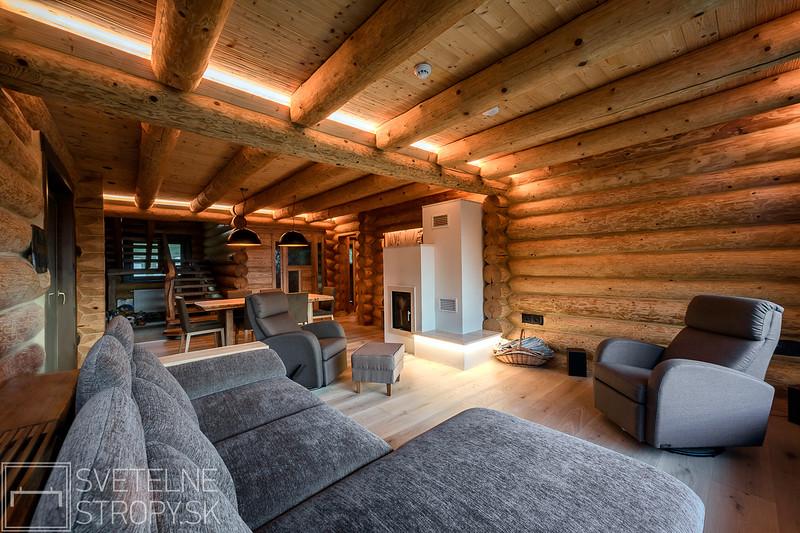 Svetelne stropy osvetlenie zrubu pri martine interier aj exterier (17 of 38).jpg