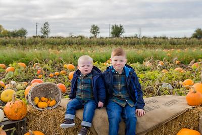 William & Declan @ The Pumpkin Patch 20