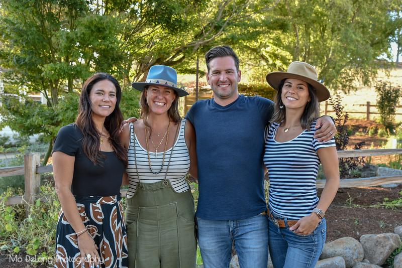 Nicole Mow, Jenn Perell Bush and David and Ari Leon