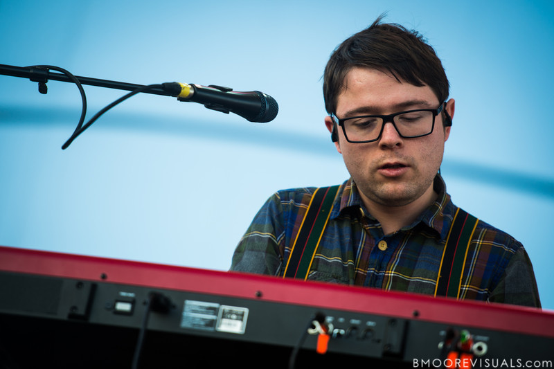 Steingrímur Karl Teague performs with Of Monsters And Men on December 1, 2012 during 97X Next Big Thing at Vinoy Park in St. Petersburg, Florida