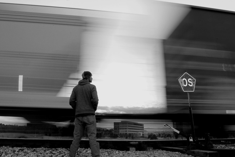 Trains - Self Portrait