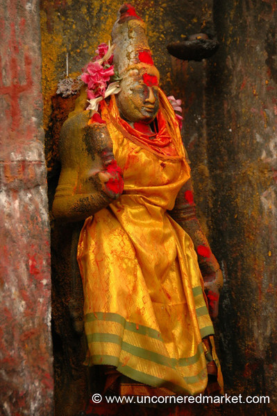 Madurai, India: Hindu Temple God