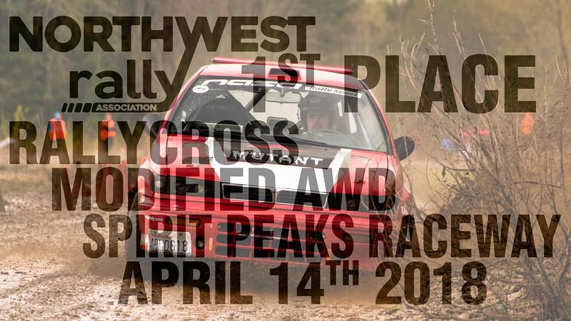 Northwest Rally Spirit Peaks 4/14/18