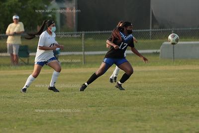East Bladen 21 St Pauls 4/8 girls soccer