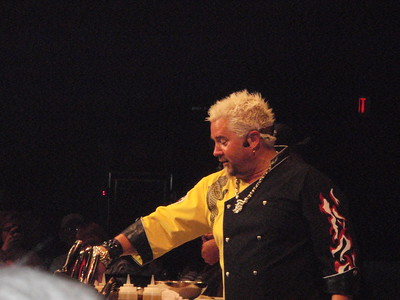 5/19/2011 Donald & Starlette to see Guy Fieri at Cherokee