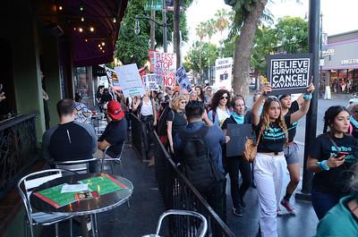 MeToo v. Kavanaugh Survivors' March