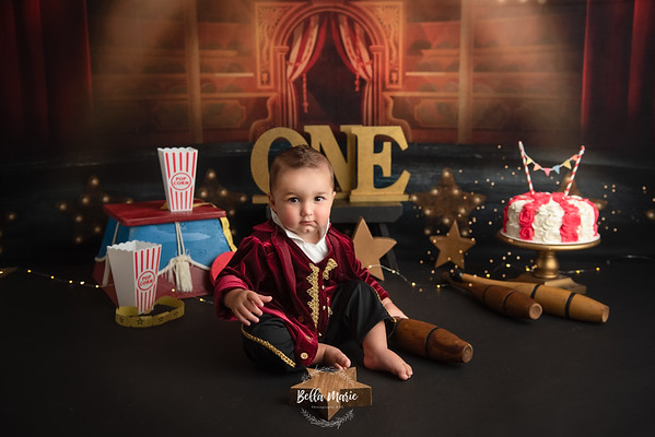 The Boys ~ First Birthday Sessions