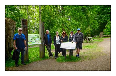 133 - Bolam Lake To Shaftoe Crags Walk, Northumberland, UK - 2021.
