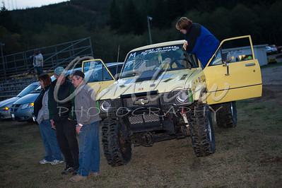Mud Drags - Coos Bay Speedway - Oct 20, 2012