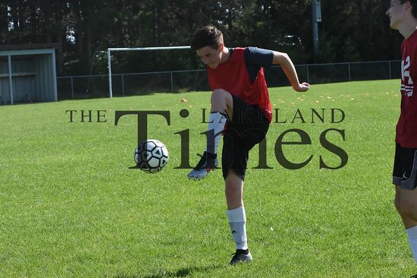 Lakeland Boys' Soccer Practice August 19, 2019