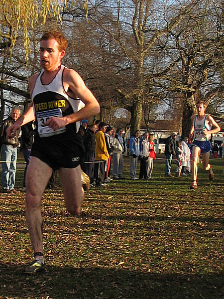 2005 Canadian XC Championships - Reid Coolsaet (30:43) and Matt Kerr (30:44), 5th and 6th