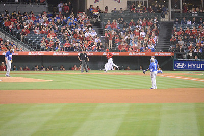 Dodgers at Angels 30 March 2013 Bottom of the Sixth