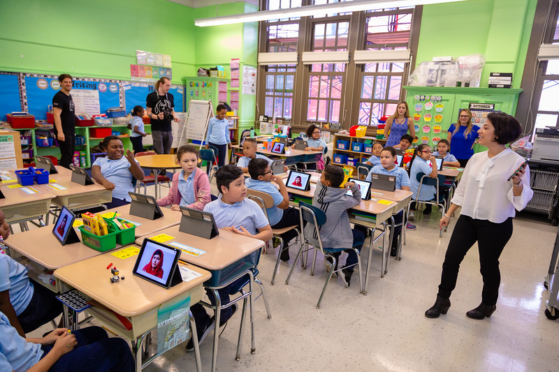 2018_10_11, Aida Ramirez, Apple, Matthew Reich, Nearpod, New York, NY, PS25, Ryan Hillsinger
