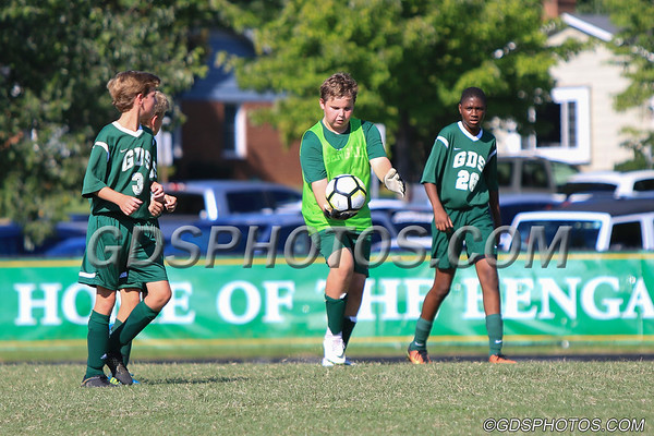 MS BOYS GREEN VS WESTCHESTER  09-05-2018