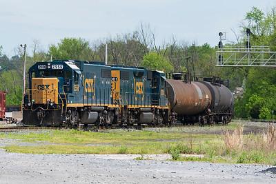 B705 Brunswick, MD to Various