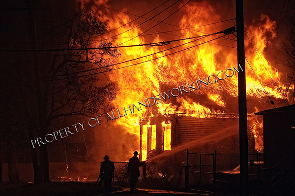 Detroit Harbough and Sire Dwelling Fire