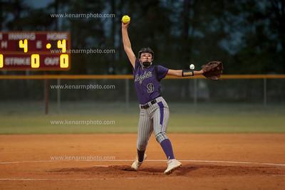 West Bladen vs Lumberton 4/13/21 softball