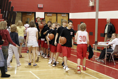 Middle School Boys Basketball 8A - 2006-2007 - 1/4/2007 Grant