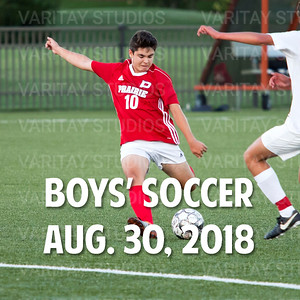 Prairie Boys Soccer 8-30-2018