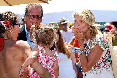 Watermill, NY - August 05:  The 18th Annual Family Day Wild Wild West Carnival, hosted by Christie Brinkley, Watermill, USA