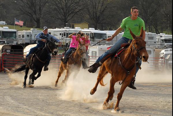 2014 Jackpot Mule Racing