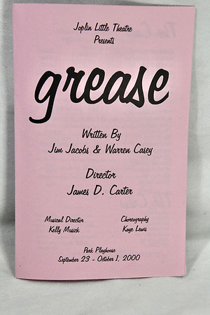 9-23-2000 Grease @ Joplin Little Theatre