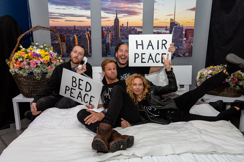 2018_10_17, Adorama, Bed, Bed In, Hans Tanner, Jaime Walden, New York, NY, Photo Booth, Sam Simon