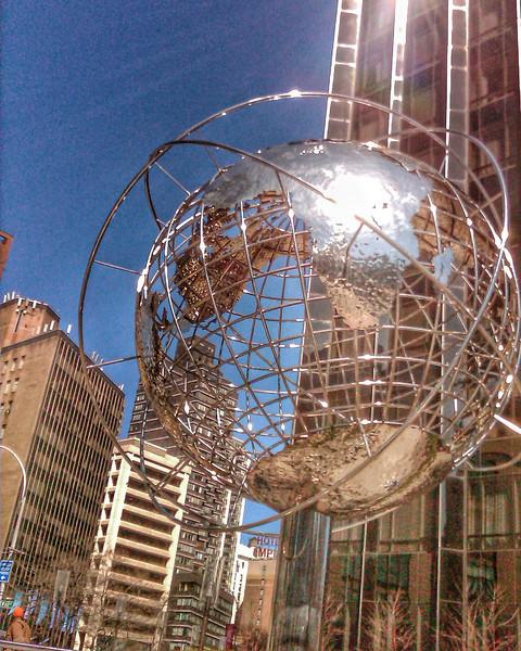 At Columbus Circle