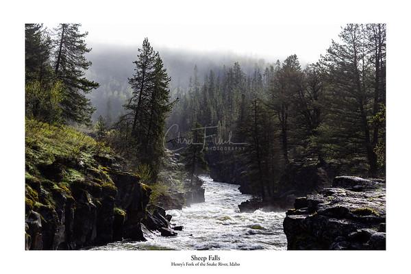 Sheep Falls, Idaho