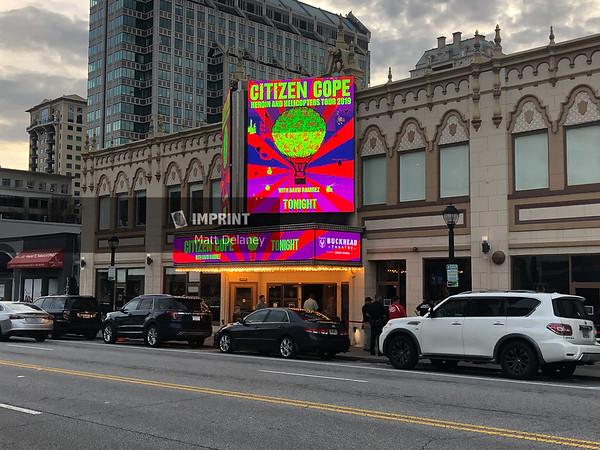 Citizen Cope at Buckhead Theatre - Atlanta, GA | 03.10.2019