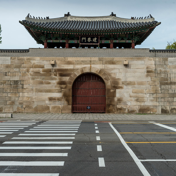 Geonchunmun Gate, Gyeongbokgung Palace, Seoul, South Korea