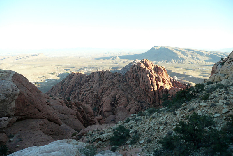 Beyond Calico Tanks Trail. Red Rock Canyon