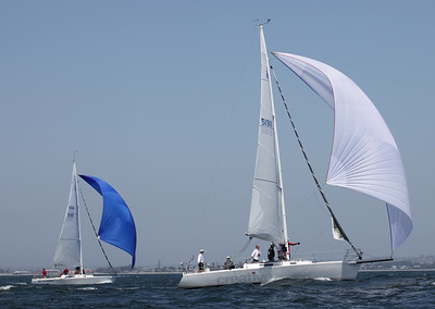 Yachting Cup B Course Near Roads Saturday
