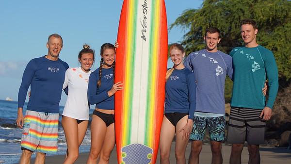 2018 Maui Surf Lesson