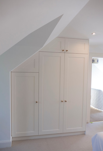 MDF wardrobes with MDF Shaker style doors.