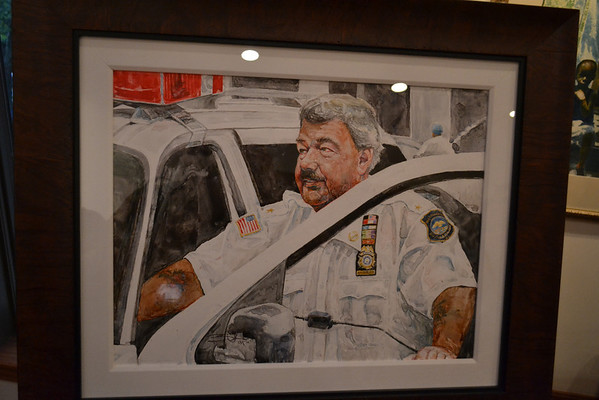 New Milford, NJ Auxiliary Police Chief Andy Boele Portrait