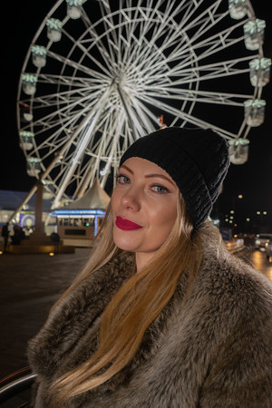 City at Night Featuring Kellyann in Leicester