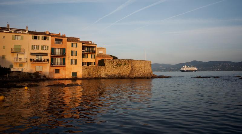 St Tropez bay at dawn