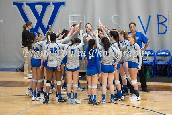 Wellesley College  volleyball  10/13/2018