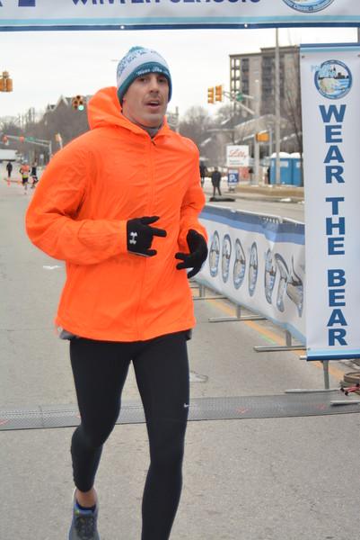 Polar Bear 10K Finish