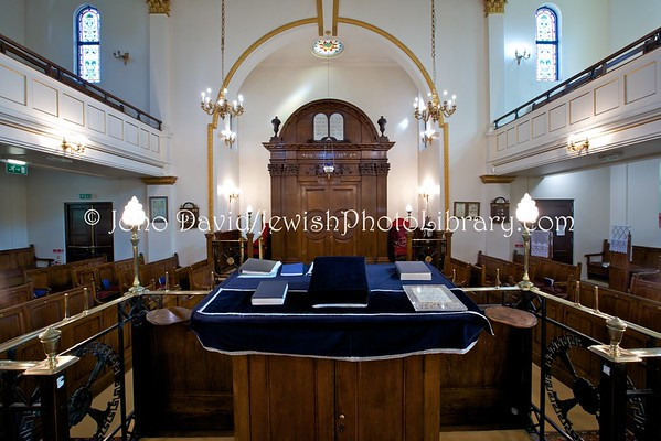 ENGLAND, London. Holland Park Synagogue (8.2016)
