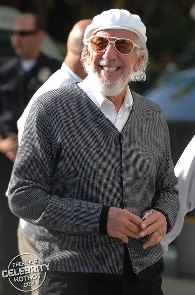 Donald Sutherland arrives at the LA Lakers For Game 1 Of The NBA Finals