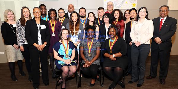 Loyola University Chicago McNair Scholars Program 'Celebrating Scholarship And Excellence' Graduation Banquet 4-24-15