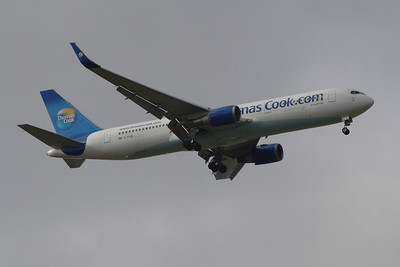 Boeing 767's of Thomas Cook Airlines