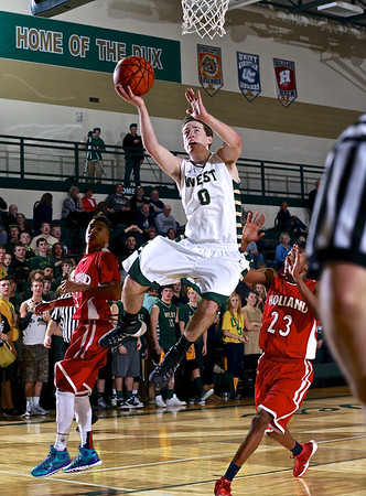 Zeeland West vs Holland Boys Basketball