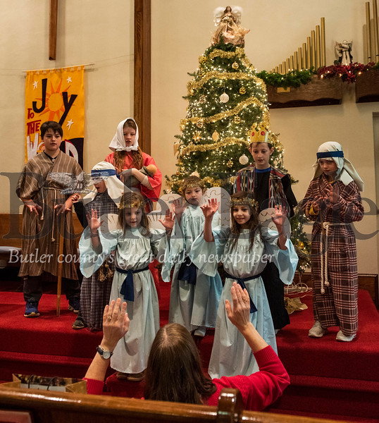 EAST BUTLER PRESBY CHURCH NATIVITY