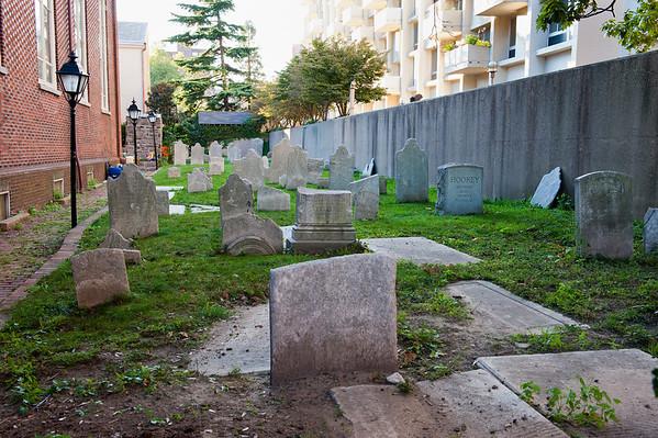 Holy Trinity Church Burial Ground, Philadelphia 2011
