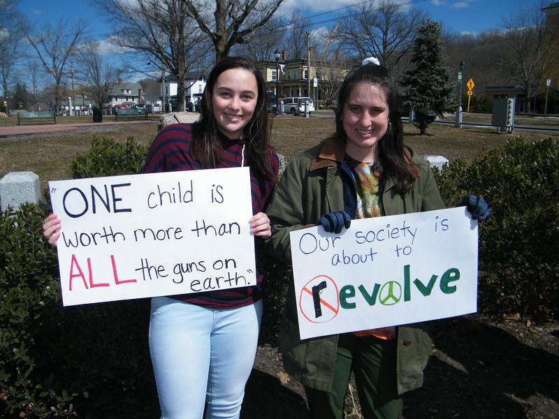 Stand With The Students Erin Sullivan and Ashley Sullivan.JPG