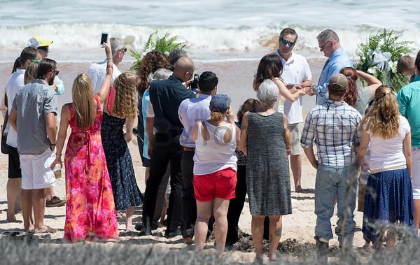 Wedding on Flagler Beach on April 1, 2017